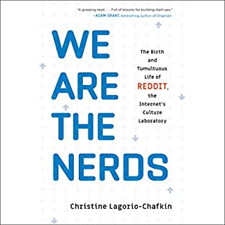 We Are the Nerds audiobook cover art