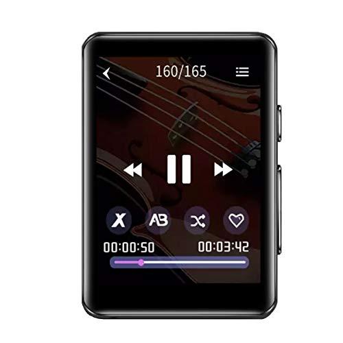 CCHKFEI 16GB Bluetooth Lettore MP3 con 2.4'Full Touch Screen Portatile mp3 Giocatori di Musica Supporto Altoparlante incorporato Radio FM registratore vocale Cuffie
