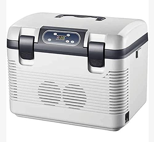 QSWL Congelador Refrigerador Portátil Congelador Automóviles Refrigerador 19L con 12/2 4V DC Refrigerador Portátil del Coche Adecuado para Camiones, Botes, Camping, Viaje