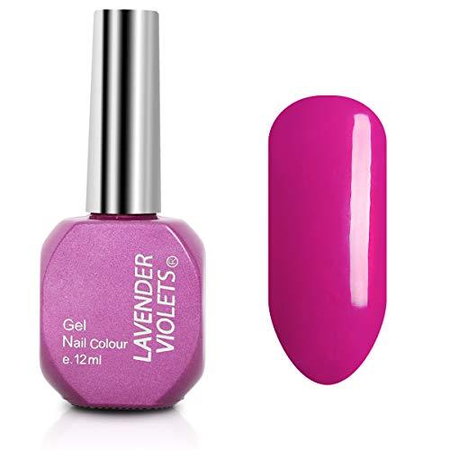 Soak off UV Gel Nail Polish 12ml Light Violet Red
