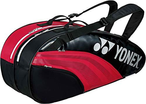 ヨネックス(YONEX) テニス用 ラケットバッグ6 (リュック付) BAG1932R レッド/ブラック(053)