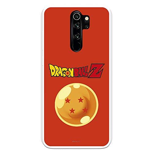 Funda para Xiaomi Redmi Note 8 Pro Oficial de Dragon Ball Bola de Dragón nº 4 Fondo para Proteger tu móvil. Carcasa para Xiaomi de Silicona Flexible con Licencia Oficial de Dragon Ball.