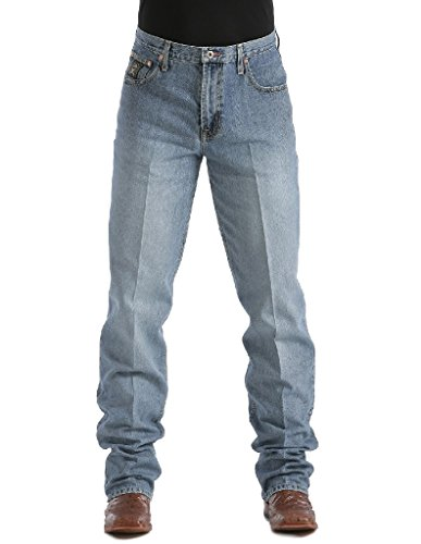 Cinch Men's Jeans Label Relaxed Fit Midstone 35W x 38L