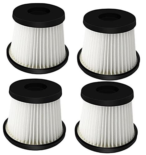 XACQuanyao Filtro de aspiradora 4pcs para Escoba de batería ARIETE 2767