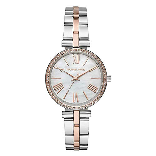 Michael Kors dames analoog kwarts horloge met roestvrij stalen armband MK3969