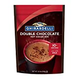 One (1) 10.5 oz bag of Ghirardelli Double Chocolate Premium Hot Cocoa Mix Hot chocolate drink mix perfectly sweetened with sugar and vanilla Creates instant rich hot chocolate or frozen hot chocolate Ghirardelli Double Chocolate Premium Hot Cocoa Mix...