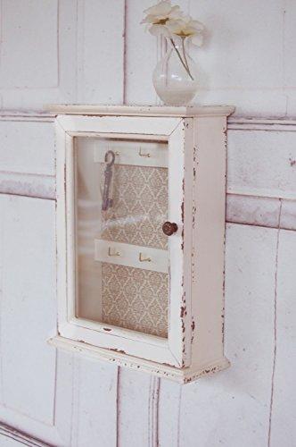 windschief-living Landhaus Schlüsselkasten Maison im Antique Shabby chic Stil