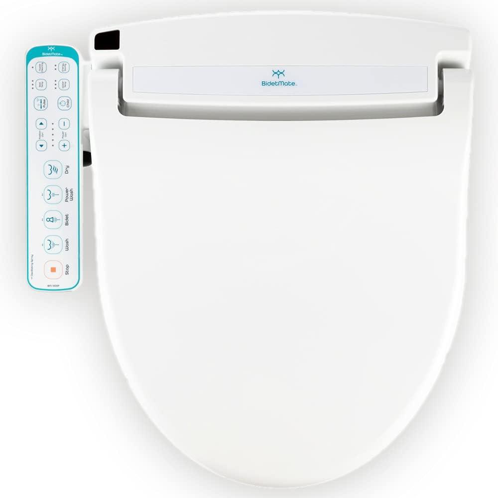 BidetMate 1000 Series Electric Bidet Toilet Seat Smart Limited time sale wi Bargain Heated