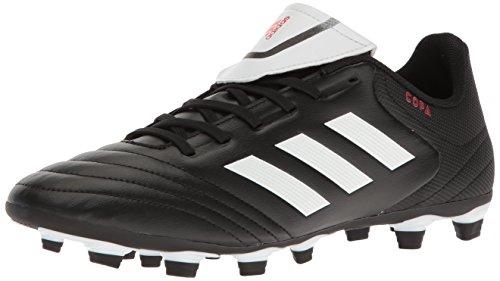 adidas Men's COPA 17.4 FxG Soccer Shoe, White/Black, (9.5 M US)