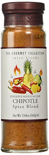 The Gourmet Collection Spice Blends - Pineapple, Mango & Lime Chipotle Spice Blend - Chipotle Seasoning Gourmet Spices for Meat, Fruit, Vegetables.