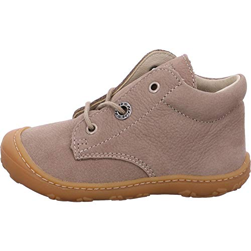 RICOSTA Unisex - Kinder Lauflern Schuhe Cory von Pepino, Weite: Weit (WMS),leger schnürschuh schnürstiefelchen Kids,kies,21 EU / 5 Child UK