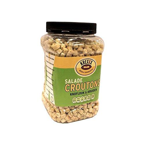 Krexxx Salade Croutons Knoflook & Kruiden 700g Dose (Salat Croutons Knoblauch & Kräuter)