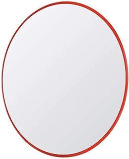 Zhao Li General Purpose Sicherheitsspiegel Toter Winkel Kreuzungsspiegel ABS Reflexion Diebstahlsicherung Weitwinkel Verkehr Indoor Acryl Quadrat Schwarz 24x18cm Verkehrsspiegel