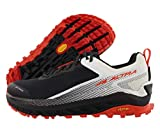 ALTRA Men's AL0A4VQM Olympus 4 Trail Running Shoe, Black/White - 8.5 M US