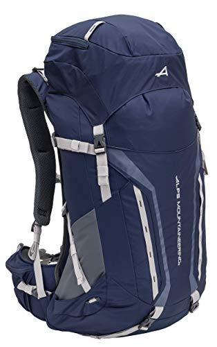 ALPS Mountaineering Unisex's Baja Internal Frame Backpack, Navy/Gray, 60L