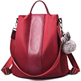 Barwell Women Backpack Ladies Rucksack Waterproof Nylon School bags Anti-theft Dayback Shoulder...