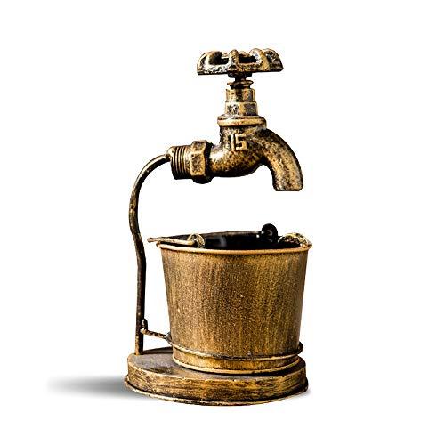 Cenicero De Estilo Industrial Vintage, Adornos De Grifos Personalizados, Cenicero De Aleación De Oficina. Restaurante Temático Decoración De Bar