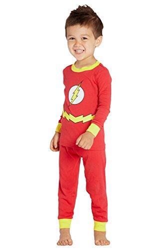DC Comics Toddler 'Flash Superhero Justice League' Cotton Costume...