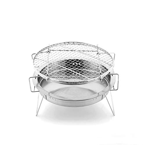 New YECUI Camping Barbecue Tools Outdoor Barbecue Stove Stainless Steel Barbecue Home Portable Thick...