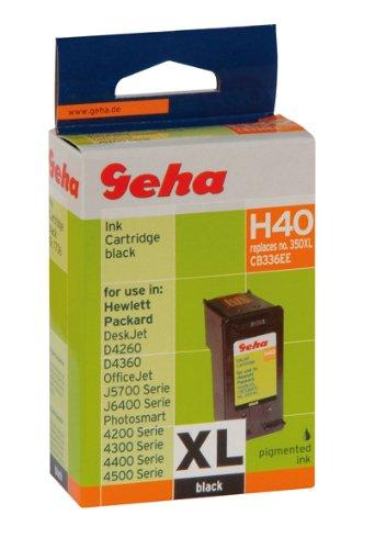 Geha Tintenpatrone für HP ersetzt Nr. 350XL schwarz
