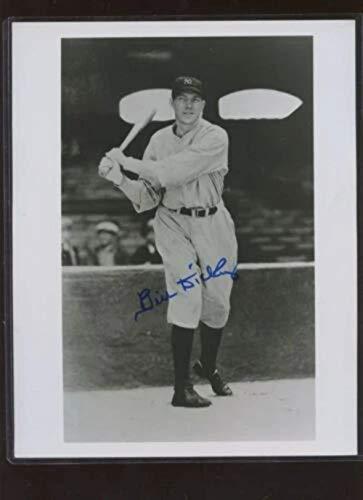 Bill Dickey New York Yankees Signed Black & White Photo B & E Hologram