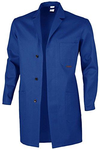 QUALITEX HIGH QUALITY WORKWEAR Berufsmantel Arbeitskittel Blaumann 100 % Baumwolle - mehrere Farben - 44,Kornblau