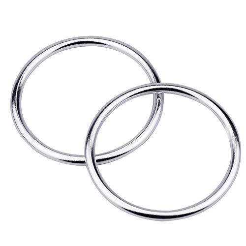2 Stk Sling Ring Sling für Babyschalen Aluminium Tragetuch Ring Tragbar Sling Ringe Kleinkinder