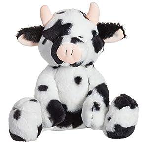 Apricot Lamb-Juguetes Peluche de Vaca clásica Animal de Peluche Suave,Ideal para niños de 3 años o más y Adultos(Vaca clásica,26cm)