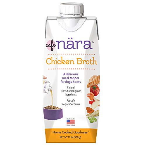 Café Nara Chicken Broth Meal Topper for Dogs and Cats - 1.1 lbs.