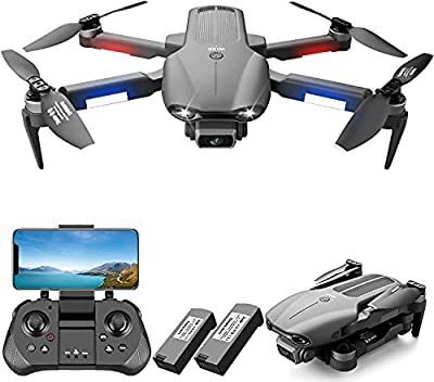 4DRC F9 Drone with Camera 1080P HD Camera for Beginners, GPS Auto Return, Brushless Motor 5GHz FPV RC Quadcopter Follow Me,Waypoint-Fly,Headless Mode, 2 Batteries for 50 Min and Carrying Case by 4drc