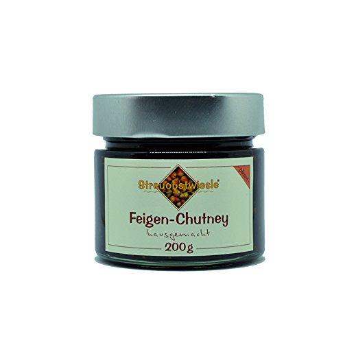 Streuobstwiesle Feigen Chutney - 200 g - Herzhafte, aromatische Sauce zum Grillen, zum Fondue, zum Raclette, zum Kase, zum Reis...