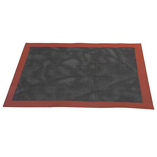 Antihaft-Silikon-Backmatte, hitzebeständig, rutschfest, leicht zu reinigen, geeignet für die Zubereitung von Speisen und Desserts, nicht null, Wie abgebildet, 40 x 60 cm