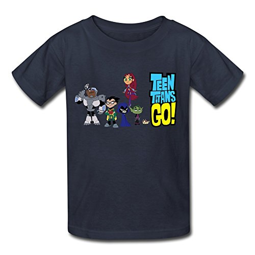 KST - T-Shirt - Garçon - Bleu - M
