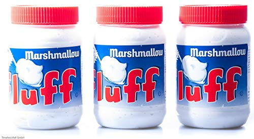 Marshmallow Fluff Creme Spread, 7.5 Ounce Jars, Pack of 3