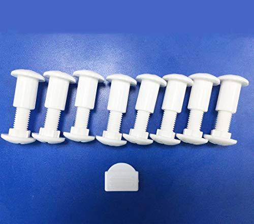Plastic Screws for Potty Training Seat SKYROKU Potty Chair Screws for Kids with Step Stool Ladder