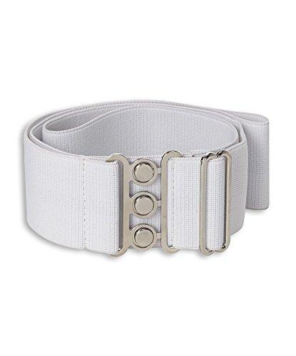 AX cintura elasticizzata White Regolare