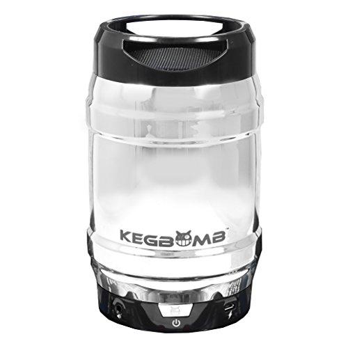 Kegbomb TRTCC1622 Keg Bomb Pint Bluetooth Wireless Speaker (Chrome)