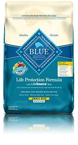 Blue Buffalo BLUE Senior Small Bite Chicken & Brown Rice 15 lb