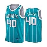 CNMDG Charlotte Hornets #40 Cody Zeller Jersey, 2021 New Season City Edition - Camisetas de baloncesto para hombres y...