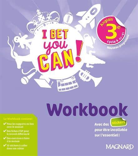 I Bet You Can! Anglais 3e (2020) - Workbook (2020)