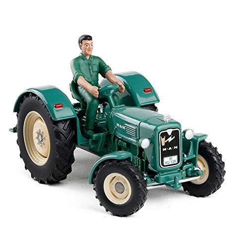 Decoración De Coches Pequeños 1/32 Tractor Toys Colección De Modelos De Coches Fundidos A Presión Modelo De Coche En Miniatura Estático Regalos Para Fanáticos De Automóviles Adultos Con Caja Original