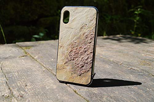 Steinmine - Carcasa para móvil con marco de aluminio estable para iPhone X/XS, iPhone 8/8 Plus, iPhone 7/7plus, iPhone 6/6, Samsung S9x (iPhone 8, dorada)