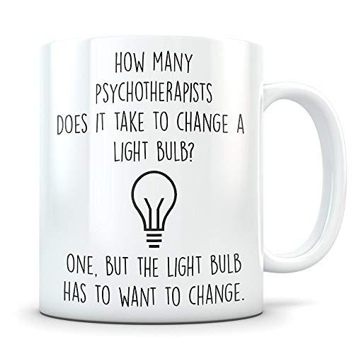 Tasse für Psychotherapeuten, Geschenk für Psychotherapeuten, Psychotherapeuten, Psychotherapeuten, Dankeschön, Psychotherapeut.