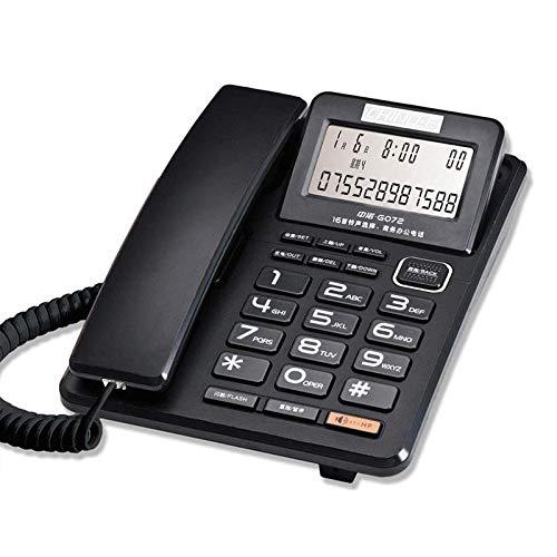 Teléfono fijo Oficina de línea fija residencial Hotel Habitación de huéspedes Grabación de audio Teléfono por cable Llamada con manos libres Desvío de llamadas Puerto de acceso dual Alarma Reloj Panta