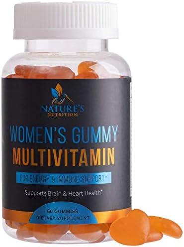 Women s Multivitamin Gummies Formula Includes Vitamins A C B6 B12 D E for Whole Body Health product image