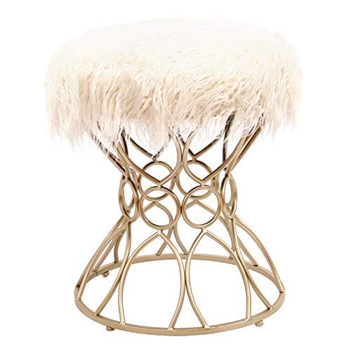 ZXDChildren's stool - Abdeckhauben für Hocker in Longhair, Größe Champagnefeet