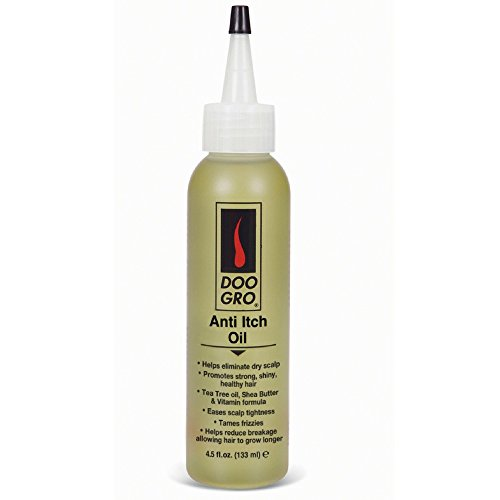 DOO GRO Anti-Itch Growth Oil, 4.5 oz (Pack of 3)