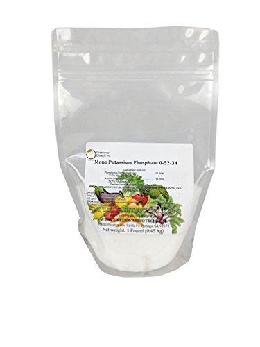 Monopotassium Phosphate Fertilizer 0-52-34 100% Water Soluble Hydroponics