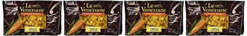 Le Veneziane - Italian Farfalle Pasta [Gluten-Free], (4)- 8.8 oz. Pkgs