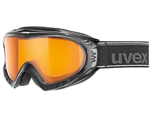 Uvex F2Supravision Skibrille–in schwarz oder polarweiß schwarz schwarz